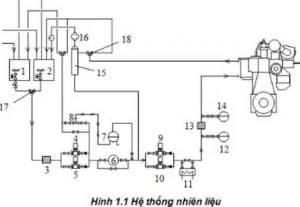 Hệ thống nhiên liệu của động cơ Diesel